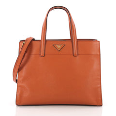 Prada Soft Triple Pocket Convertible Tote Saffiano 3566901