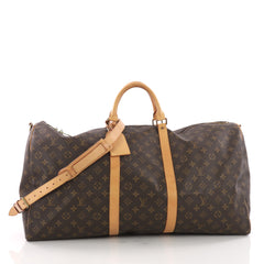Louis Vuitton Keepall Bandouliere Bag Monogram Canvas 60 Brown 3567602
