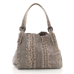 Bottega Veneta Belted Shopper Tote Karung with Intrecciato Detail Medium