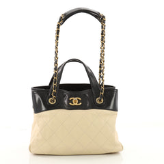 Chanel In The Mix Shopping Bag Quilted Calfskin Small 3574930