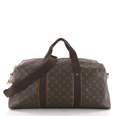 Louis Vuitton Beaubourg Weekender Bag Monogram Canvas GM Brown 3575717