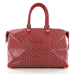 Goyard Boeing Travel Bag Coated Canvas 45 Red 3575731