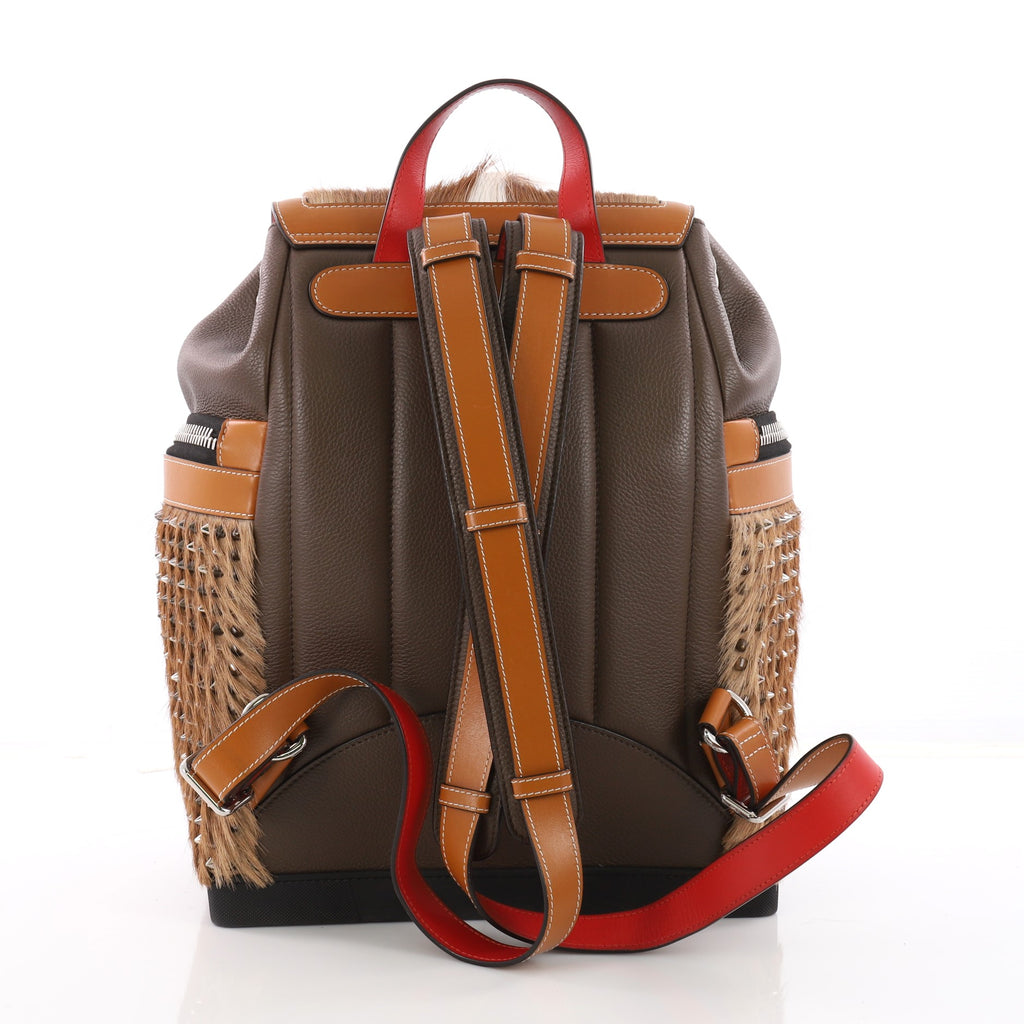 a3ae16008aa3 Buy Christian Louboutin Explorafunk Backpack Spiked Leather 3577001 ...