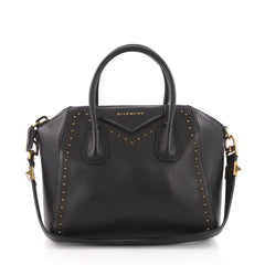 Givenchy Antigona Bag Studded Leather Small Black 3590002