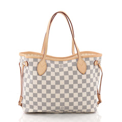Louis Vuitton Neverfull Tote Damier PM White 3593605