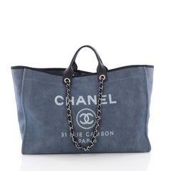 Deauville Chain Tote Canvas XL
