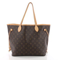 Louis Vuitton Neverfull NM Tote Monogram Canvas MM Brown 3596218