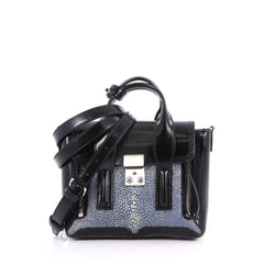 3.1 Phillip Lim Pashli Satchel Stingray and Leather Mini 3596801