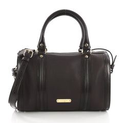 Burberry Alchester Convertible Satchel Leather Medium 3597601