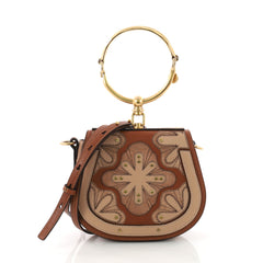 Chloe Nile Patchwork Crossbody Bag Studded Leather with 3597901