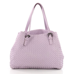 Bottega Veneta A-Shape Tote Intrecciato Nappa Large Purple 3599603