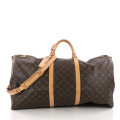 Keepall Bandouliere Bag Monogram Canvas 60