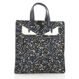 Fendi Monster Tote Printed Nylon Blue 3608603