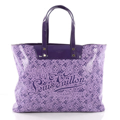 Louis Vuitton Voyage Tote Cosmic Blossom GM