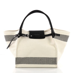 Celine Big Bag Canvas Medium White 3612307