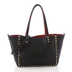 Valentino Rockstud Reversible Convertible Tote Leather 3615103