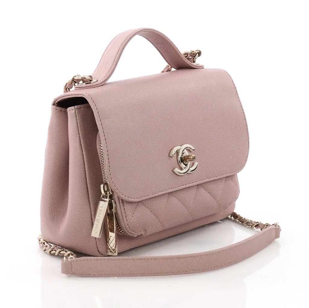 faa186045c30 Buy Chanel Business Affinity Flap Bag Quilted Caviar Small 3623221 ...