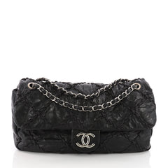 Chanel Ultra Stitch Flap Bag Quilted Calfskin Jumbo 3624502