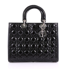 Christian Dior Lady Dior Handbag Cannage Quilt Patent 3625401