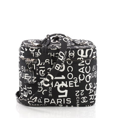Chanel 31 Rue Cambon Vanity Case Printed Nylon Small 3631204