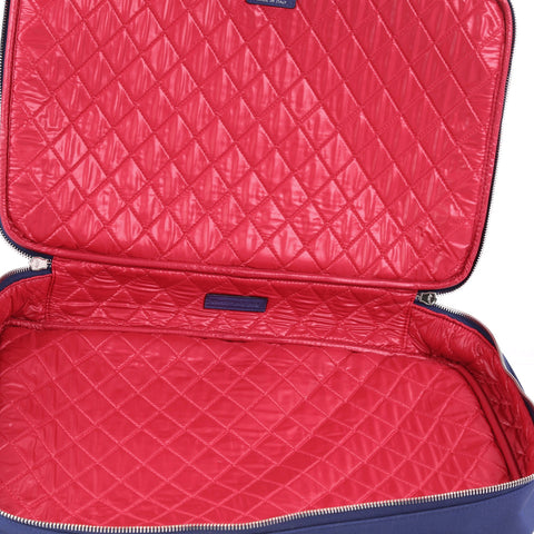 f97f685d033 Chanel Laptop Sleeve Quilted Nylon Blue 3649029 – Rebag
