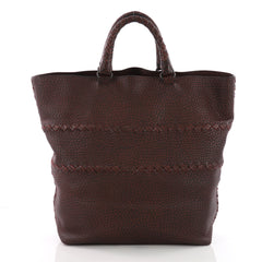 Bottega Veneta Open Tote Cervo Leather with Intrecciato 3649061