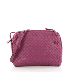 Bottega Veneta Crossbody Intrecciato Nappa Small Purple 3649503