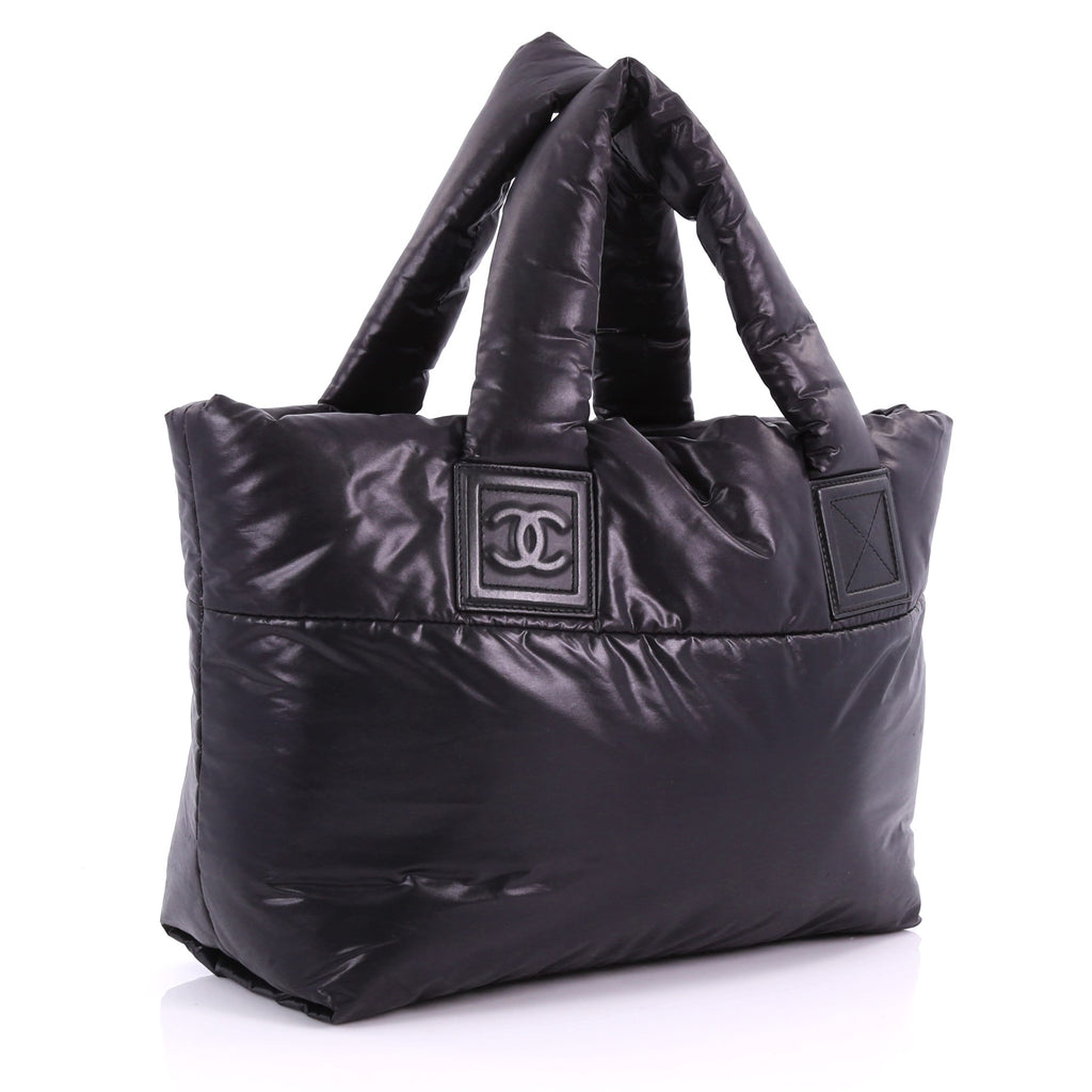 a5f8e07ad11a Chanel Coco Cocoon Reversible Tote Quilted Nylon Small 3654528 – Rebag