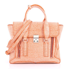 3.1 Phillip Lim Model: Pashli Satchel Leather Medium  Orange 3657902
