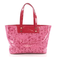 Louis Vuitton Voyage Tote Cosmic Blossom PM Pink 3662717