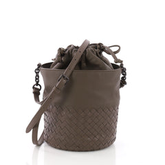 Bottega Veneta Drawstring Bucket Bag Leather and 3662737
