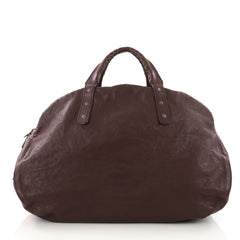 Bottega Veneta Weekender Bag Leather with Intrecciato 3662753