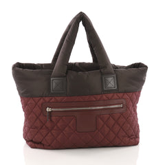 Chanel Coco Cocoon Reversible Tote Quilted Nylon Medium 3663003