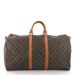 Louis Vuitton Keepall Bandouliere Bag Monogram Canvas 55 3668618