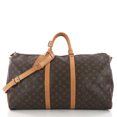 Louis Vuitton Keepall Bandouliere Bag Monogram Canvas 55 3668620
