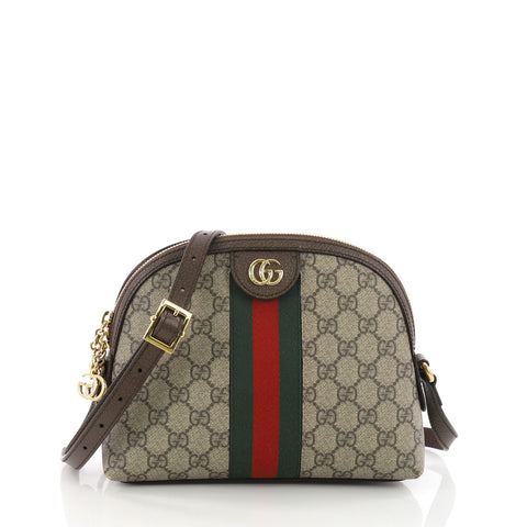 7c70ef0ef63 Buy Gucci Ophidia Dome Shoulder Bag GG Coated Canvas Small 3669405 – Rebag