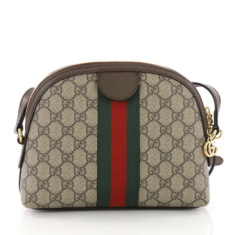 bf83efb1b77 Buy Gucci Ophidia Dome Shoulder Bag GG Coated Canvas Small 3669405 ...