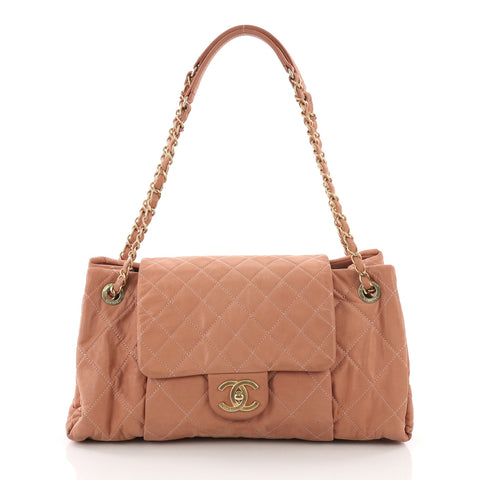 aa676ac6082ee7 Chanel Chic Quilt Accordion Flap Bag Quilted Iridescent 3669486 – Rebag