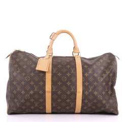 Louis Vuitton Keepall Bag Monogram Canvas 50 Brown 3671531
