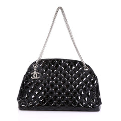 Just Mademoiselle Handbag Quilted Patent Large