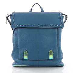 Christian Louboutin Syd Flap Backpack Spiked Leather 3684101