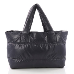 Chanel Coco Cocoon Reversible Tote Quilted Nylon Medium 3690401