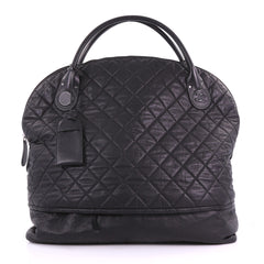 Chanel Horizontal Sport Weekender Bag Quilted Coated Canvas XL 3697609