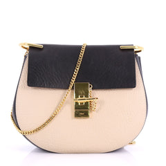 Chloe Drew Crossbody Bag Leather Small Black 3697618