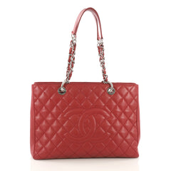 Chanel Model: Grand Shopping Tote Quilted Caviar Red 36984/02