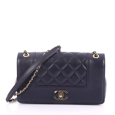 9bf6bda93ed5 Chanel Mademoiselle Vintage Flap Bag Quilted Sheepskin Small 370411 – Rebag