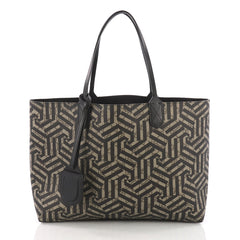 Gucci Reversible Tote Caleido GG Print Leather Large Black 3707815