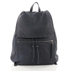 Balenciaga Classic Traveler S Backpack Leather Blue 3707834