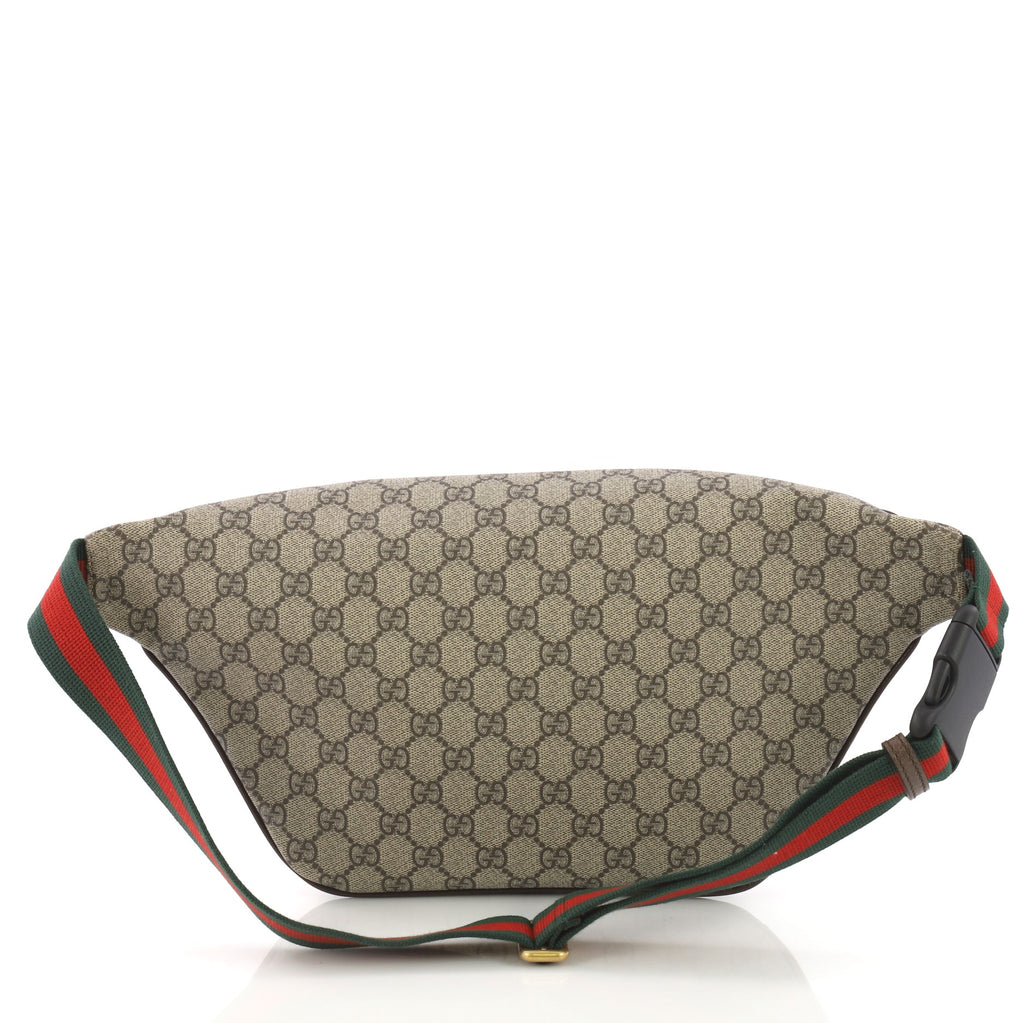 65c4a5417ca Gucci Courrier Zip Belt Bag GG Coated Canvas with 371043 – Rebag