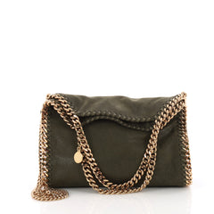Stella McCartney Falabella Fold Over Crossbody Bag Shaggy 371471